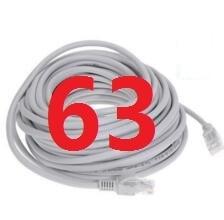 63 # laoke 2018 кабель высокого Скорость 1000 м RJ45 CAT6 сети Ethernet плоский кабель LAN UTP Патч-маршрутизатор Кабели