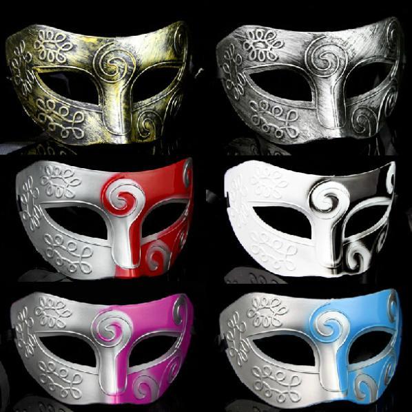 Moda Plástico Jazz Príncipe Máscaras Meia Máscara Para Os Homens - Para feriados e festas