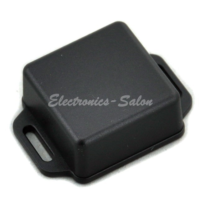 Small Wall-mounting Plastic Enclosure Box Case, Black,41x41x20mm, HIGH QUALITY.