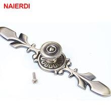 naierdi 120mm bronze handles kitchen door cupboard zinc alloy european modern wardrobe furniture drawer pulls cabinets