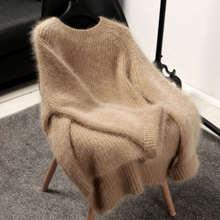 Lembut Sweater Pullover Longgar
