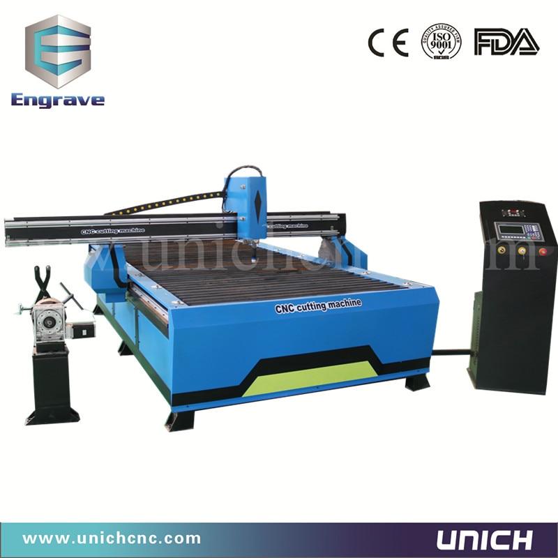 China Popular plasma cutter plate and tube 1500*3000 cnc plasma cutting machine