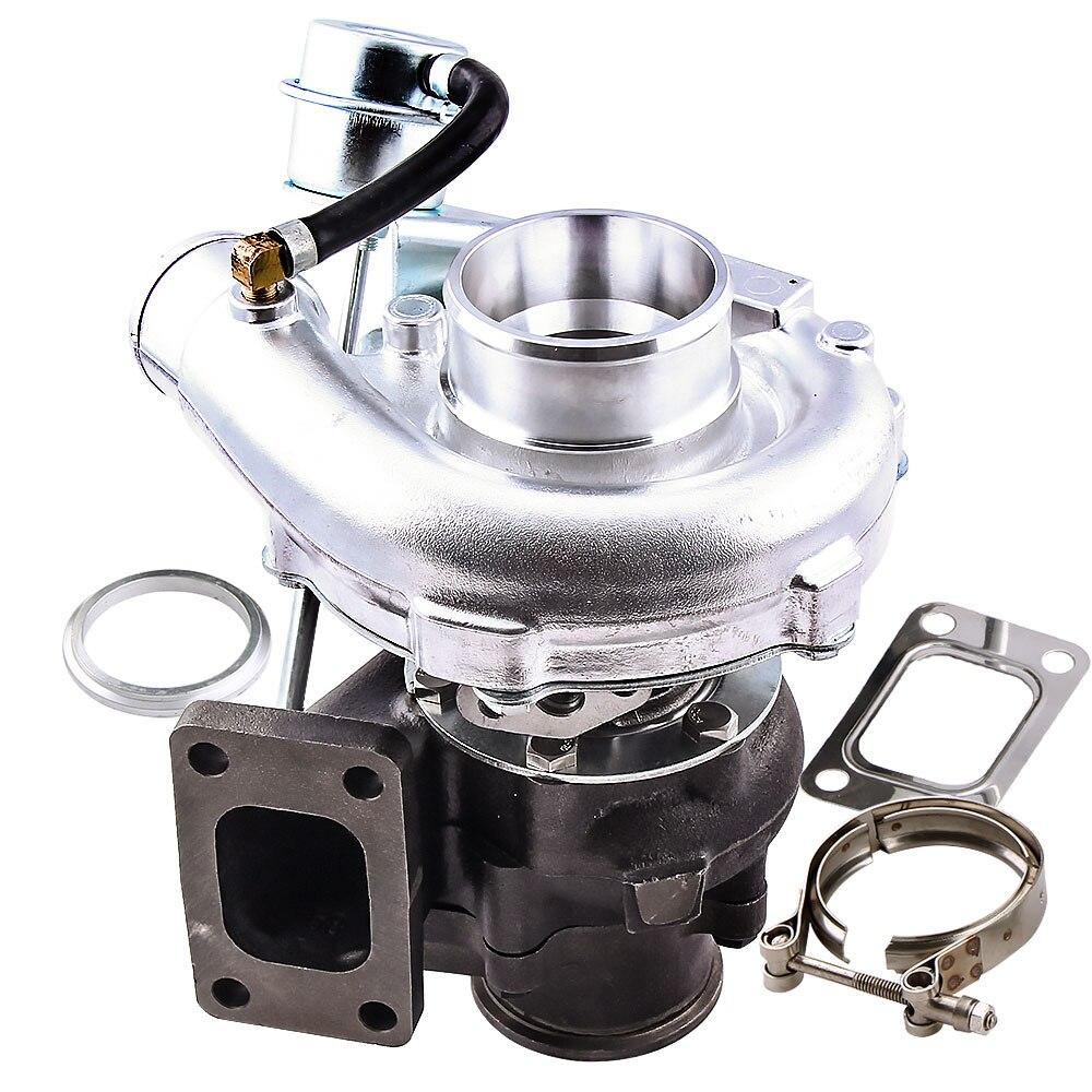 Turbo For Nissan Safari Patrol 4.2L TD42 GU GQ Y60 Turbocharger T3 Flange T3 T4 T3T4 TO4E V band Turbolader 0.63 AR+ Turbine