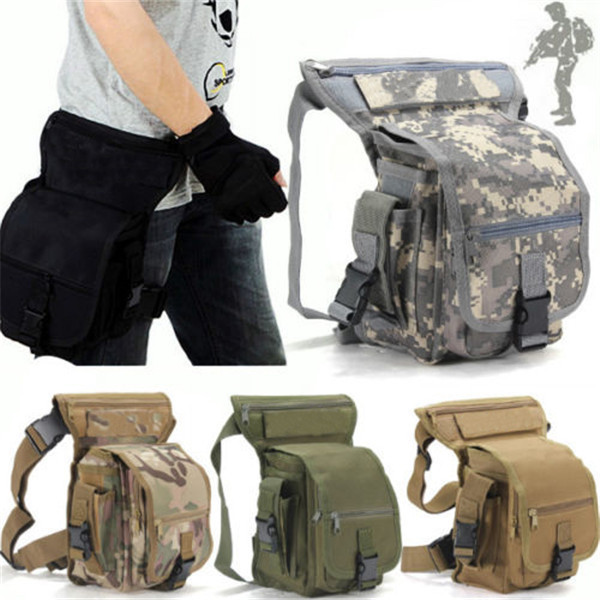 Multicam Sports Ride Leg Bag Special Waterproof Drop Utility Thigh Pouch 2015 Military Waist Pack Weapons Tactics Free Shipping emerson gear sniper waist pack genuine multicam 500d military tactical waist pack free shipping sku12050410