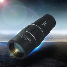 Newest 16×52 Dual Focus Zoom Optic Lens Day Night Vision Armoring Travel Monocular Telescope Tourism Scope Binoculars
