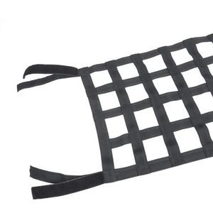 Image 2 - Black Heavy Duty Cargo Net Cover For Jeep Wrangler TJ JK 07 18 Multifunctional Top Roof Storage Hammock Bed Rest Network Cover