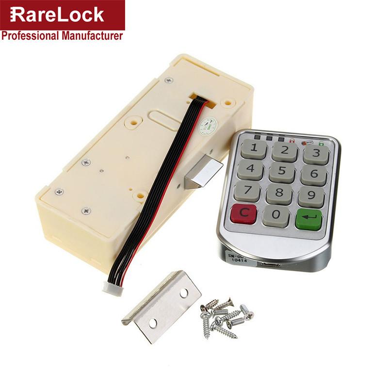Us 2327 5 Offrarelock Wachtwoord Vergrendelen Digitale Elektronische Wachtwoord Toetsenbord Nummer Kast Code Sloten Intelligente Een In Rarelock