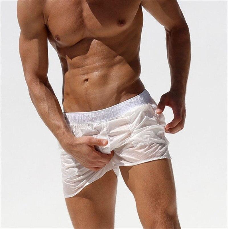 Novo homem de banho sexy sunga transpe