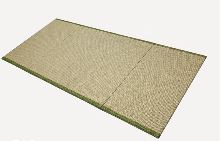 4 Fold Foldable Japanese Tatami Mat Rectangle Large Carpet For Student Dormitory Bedroom Sleeping Flooring Home Futon Mattress