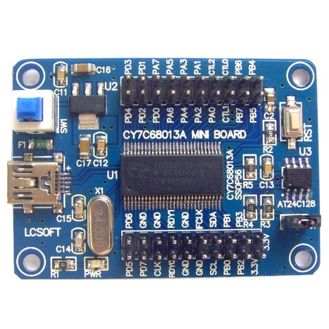 EZ USB FX2LP CY7C68013A USB Core Board Development Board Logic Analyzer