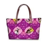 Dragen Li Pattern Catwomen handbags casual large women's shoulder bag Roblox Games bags ladies School