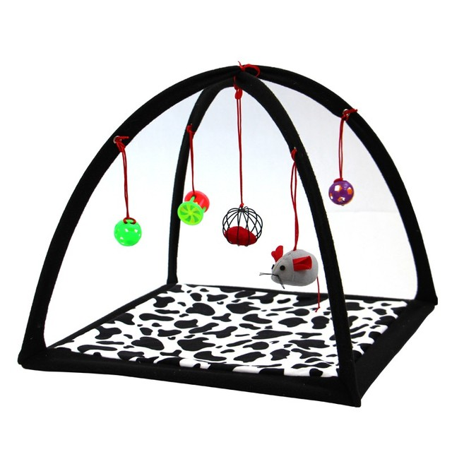 wholesale pet cat dog supplies cat playing tent scratch board mat bed mobile activity playing mat  sc 1 st  AliExpress.com : cat play tent - memphite.com