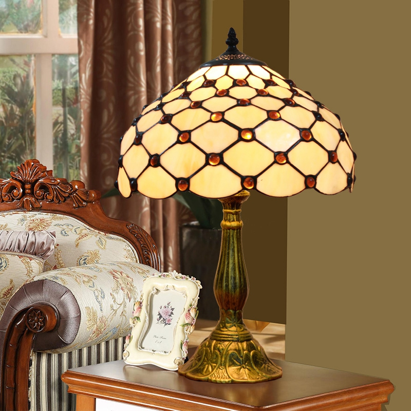 Lights & Lighting Modern Simple Individuality Japanese Style Glass Shade Ball Table Lamp Bedroom Bedside Living Room Decorative Lamp Non-Ironing