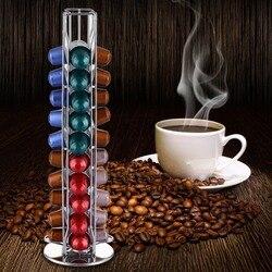 2019 Nespresso Kahve Bakla Tutucu Dönen Raf Kahve Kapsül Standı Nespresso Kapsül Depolama Hasıraltı Organizasyon Tutucu Setleri