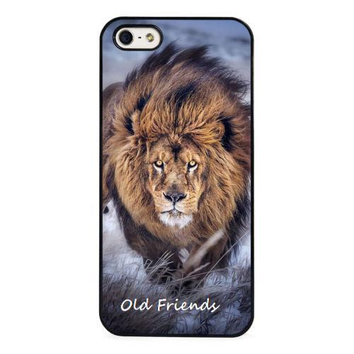 Lion Awesome Nature Predator Wild Cat Phone Case  for iphone 4 5s 5c SE 6 6s 6plus 6splus Samsung galaxy s3 s4 s5