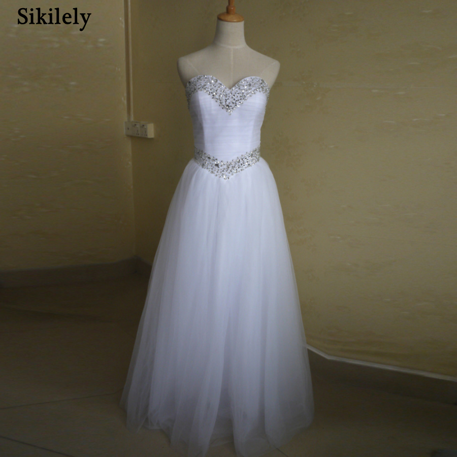 Online get cheap simple fall wedding dresses aliexpress for Cheap simple wedding dresses