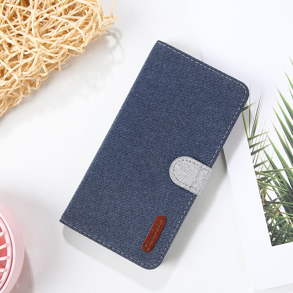 Linen Coque <font><b>Flip</b></font> Phone <font><b>Case</b></font> For <font><b>Huawei</b></font> Honor 10 Lite P30 P20 Lite Nova4 <font><b>P</b></font> <font><b>Smart</b></font> Soft Back Cover Y6 Y7 Pro 2019 Y5 Prime <font><b>2018</b></font> image