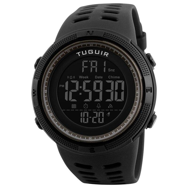 Digital Watch Clock Waterproof Multi-Function 1251 Famous-Brand Masculino Sports Men's