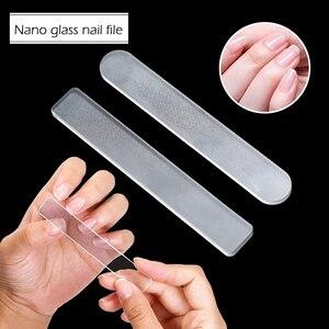 Профессиональный Прочный нано-стеклянный буфер для ногтей, пилка для маникюра, пилки для дизайна ногтей, стеклянный буфер для полировки, гр...
