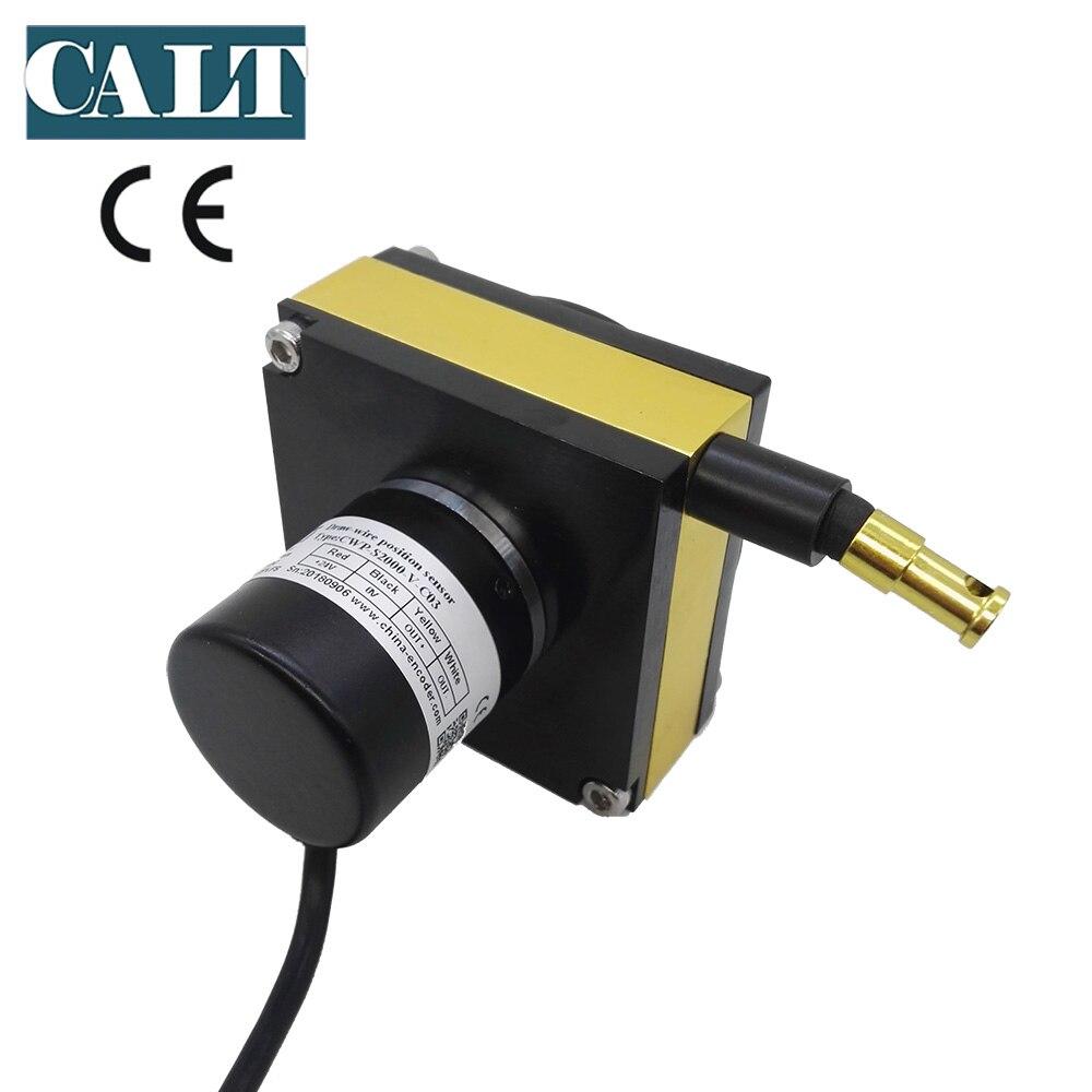 2000mm Measuring Range Potentiometer Position Sensor Wire Draw Potentiometer Sensor CWP-S2000 With 1year Warranty