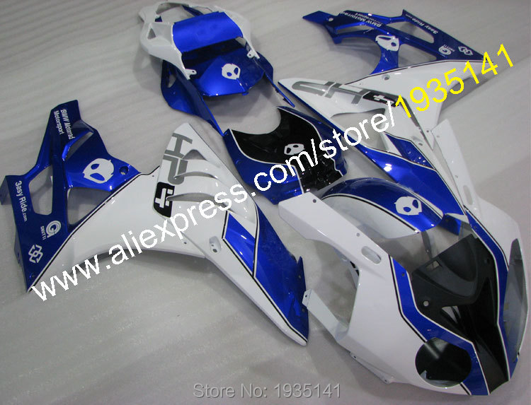 Hot Sales,For BMW S1000RR fairings kit 10 11 12 13 14 S 1000RR Cowling S1000 RR 2010-2014 blue white black (Injection molding) hot sales yzf600 r6 08 14 set for yamaha r6 fairing kit 2008 2014 red and white bodywork fairings injection molding