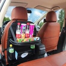 1 шт. сумка для хранения автомобиля Universal Box заднее сиденье мешок Организатор сиденье держатель карманы автомобиль-Стайлинг протектор Авто аксессуары для малыша
