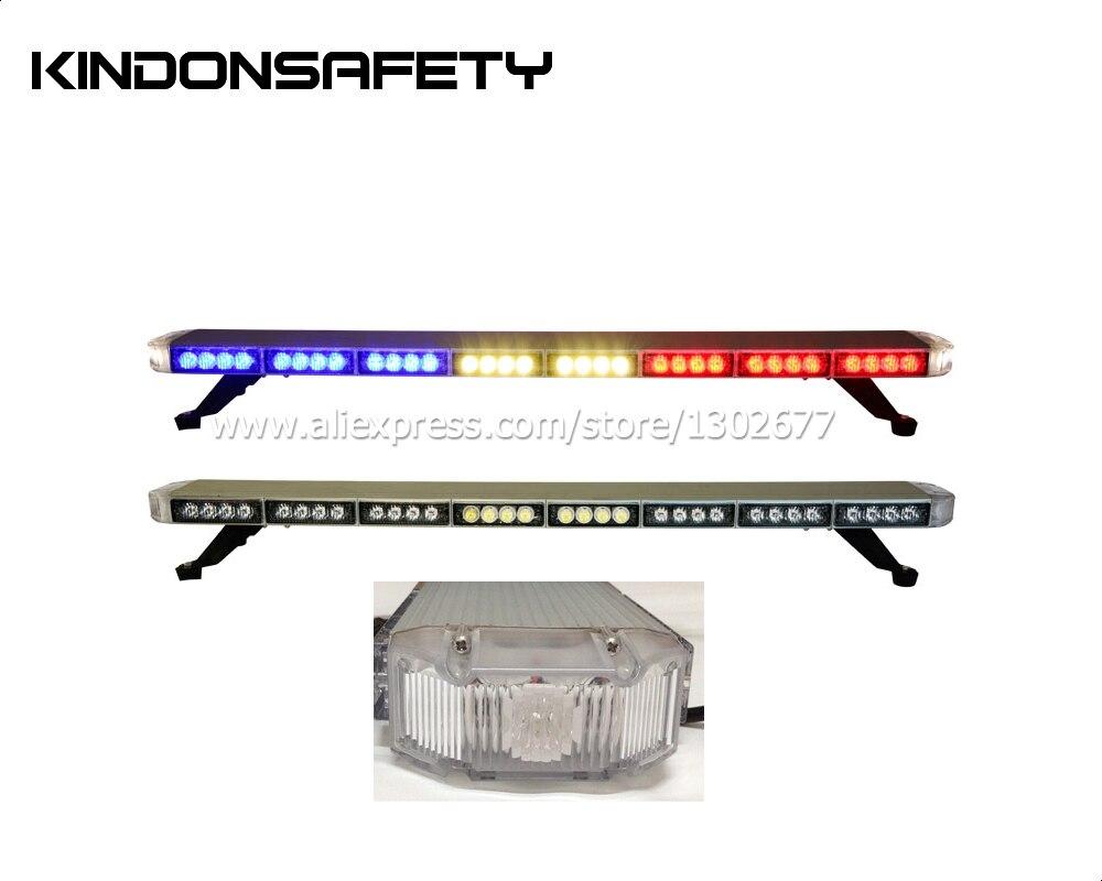 Высокая яркость 3 Вт светодиодная сигнальная лампочка strobelight, DC12V или 24 V, 1040 мм 41 дюймов 70 шт., желтый красный синий белый