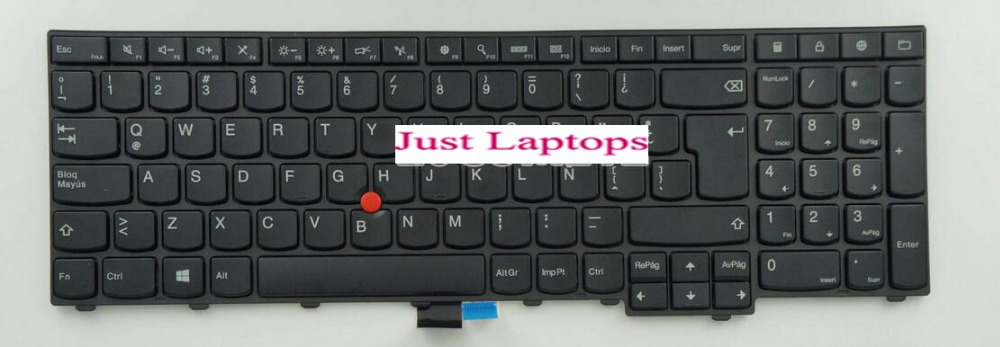 keyboard for Lenovo ThinkPad W540 W541 W550s T540 T540p T550 L540 Edge E531 E540 SPANISH/LATIN HISPANIC/GREEK/ARABIC/ITALIAN  цены
