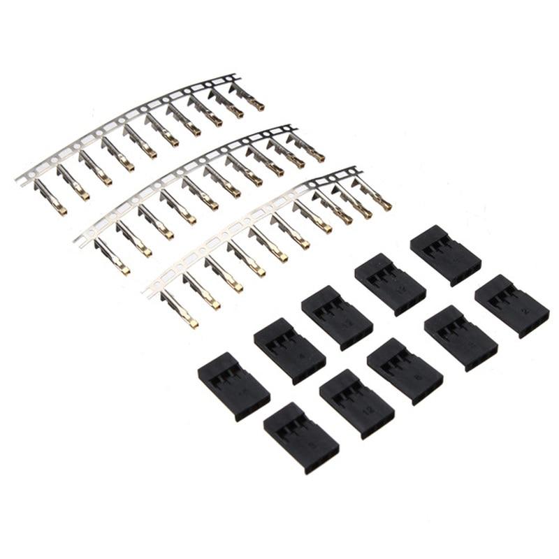 10Set Plug Servo Plug Terminal Gilt Male And Terminal For JR Futaba Plug
