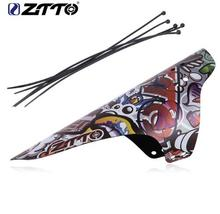 ZTTO 10pcs Mountain Bike Fender MTB Bicycle Front Rear Short Mudguard AM Enduro DH Cycling 26 27.5 29 For Road