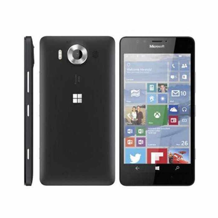 Оригинальный разблокированный телефон Nokia microsoft Lumia 950 5,2 дюймов четырехъядерный LTE 32 Гб rom 20.0MP Windows мобильный сотовый телефон Восстановленный