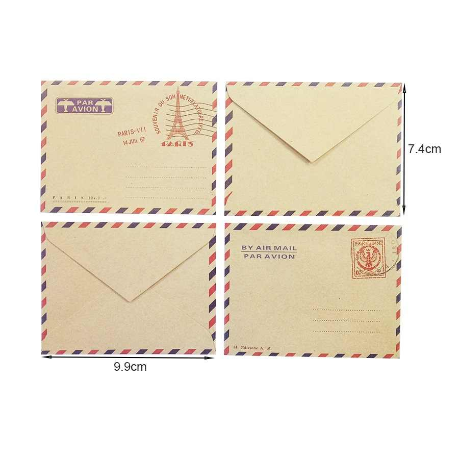 Конверты для открыток почтой, надписями вот