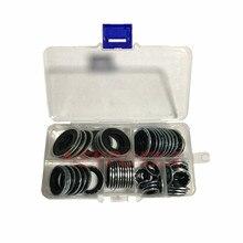60 штук уплотнительные прокладки для автомобильных систем кондиционирования воздуха, прокладки расширительного клапана, головные уплотнения труб, прокладки компрессора