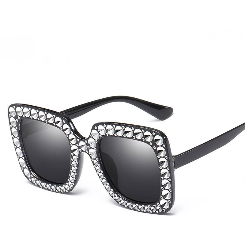 Fashion Square Glasses Sunglasses Women Luxury Brand Designers Retro Lady Sun Female Eyewear