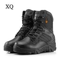 Nuevo Botas militares de invierno para hombre, botas tácticas de combate de desierto de alta calidad, botas de ejército duraderas, zapatos de camuflaje de moda