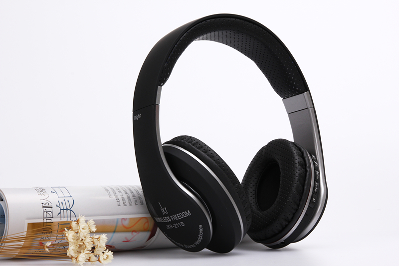 Bluetooth stereo headphones Wired+wireless headphones Bluetooth 3.0 headset over the Ear headphones For PC Laptop Phone JKR211