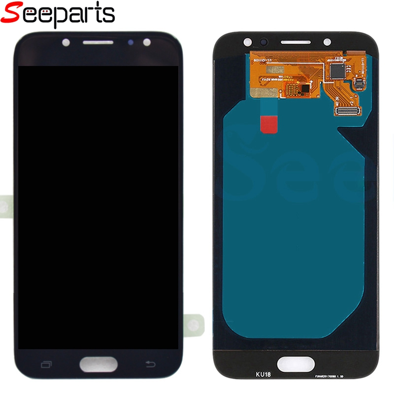 100% Testé Pour Samsung Galaxy J730 J7 Pro 2017 écran LCD + ensemble numériseur à écran tactile remplacement pour Samsung J730 LCD