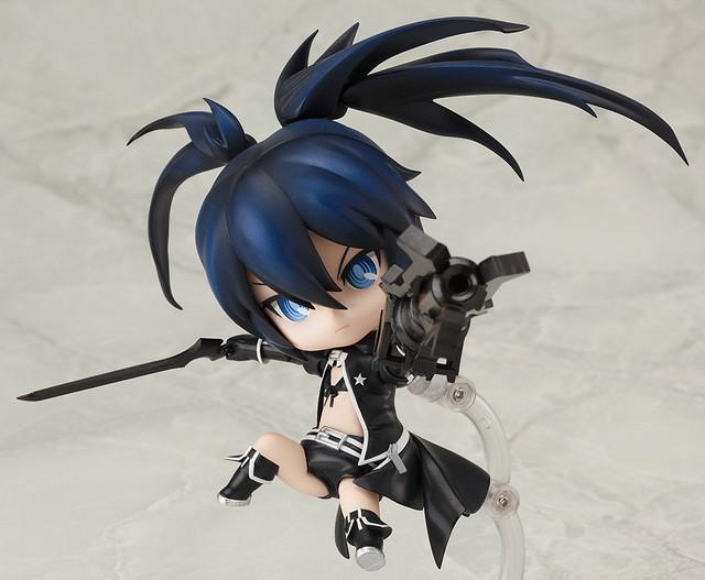 Black Rock Shooter Q version Anime Action Figure PVC New Collection figures toys Collection for Christmas gift