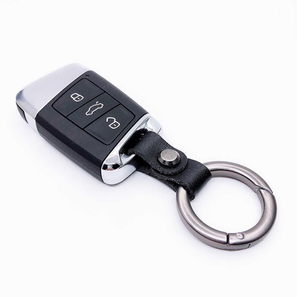 DIY Chaveiro Carro Titular Pequeno EDC Bolso Titular da Chave Do Carro Das Mulheres Dos Homens Carteiras de Couro Titular da Chave Chave Organizador
