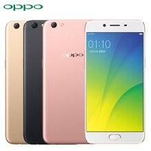 "Оригинал oppo r9s сотовый телефон msm8953 octa core rom 4 ГБ ram 64 ГБ 5.5 ""экран Android 6.0 3010 мАч 16.0MP Камера 4 Г LTE Смартфон"