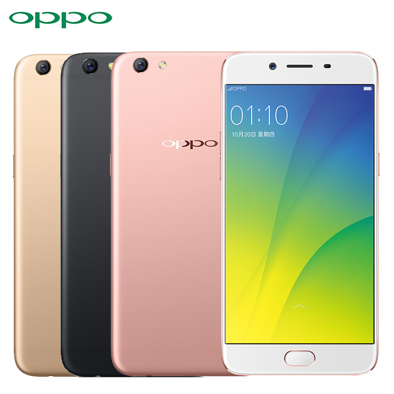 "Original Oppo R9s Cell Phone MSM8953 Octa Core ROM 4GB RAM 64GB 5.5"" Screen Android 6.0 3010mAh 16.0MP Camera 4G LTE Smartphone"