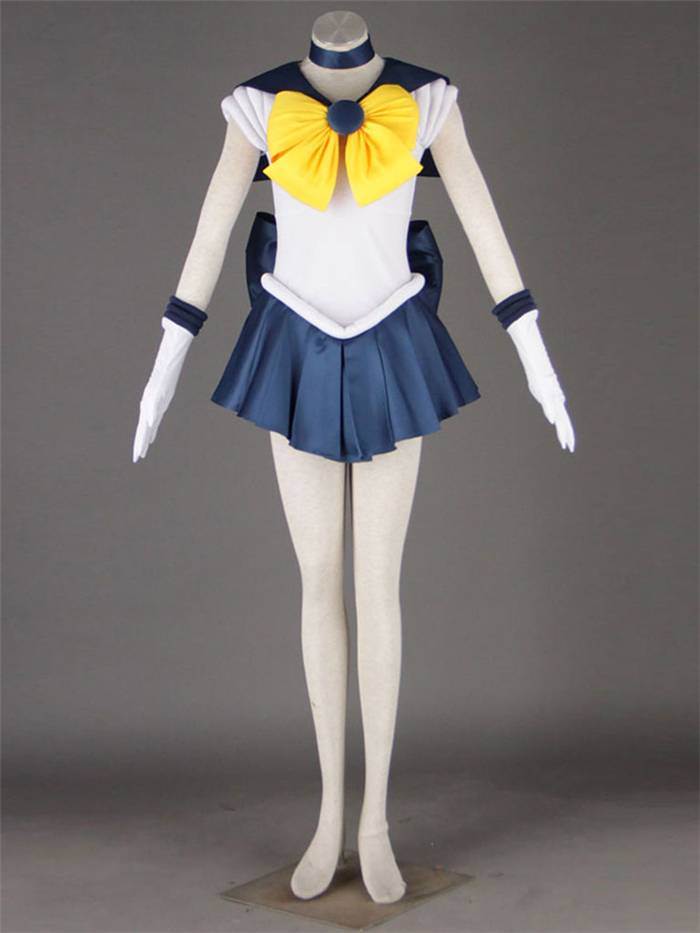 Sailor Moon Sailor Uranus cosplay costume Halloween dress anime Free Shipping custom made first series free shipping 8 pretty guardian sailor moon anime uranus tenoh haruka