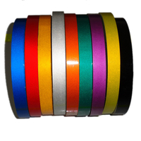 1cm 2cm 3cm 45m Bright Reflective Tape Sticker Car Styling Vehicle Truck Motorcycle Bicycle Safety Warning