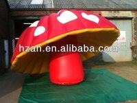 Гигант украшения надувные гриб для продажи