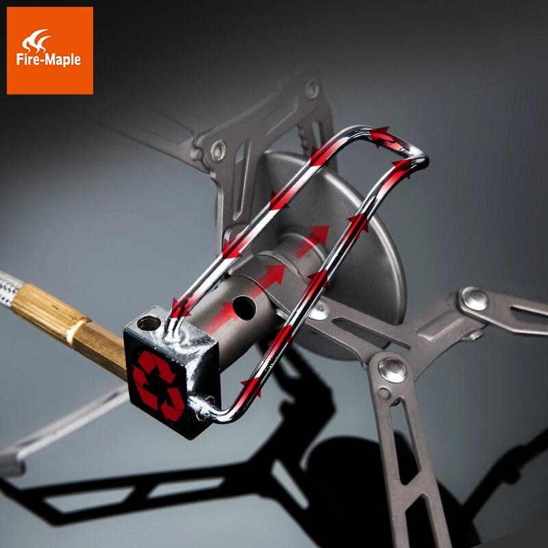 Fire Maple Daofeng2 Remoto Ultra light 135g One-piece Titanium Gas Stove Burner