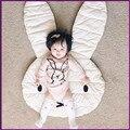 El nuevo Encanto Conejo Tiro Manta Arrastrándose Alfombra Del Piso Alfombra de Juegos Sala de Niños Decoración Juego Alfombras Arrastrándose Estera Tamaño 106*68 CM