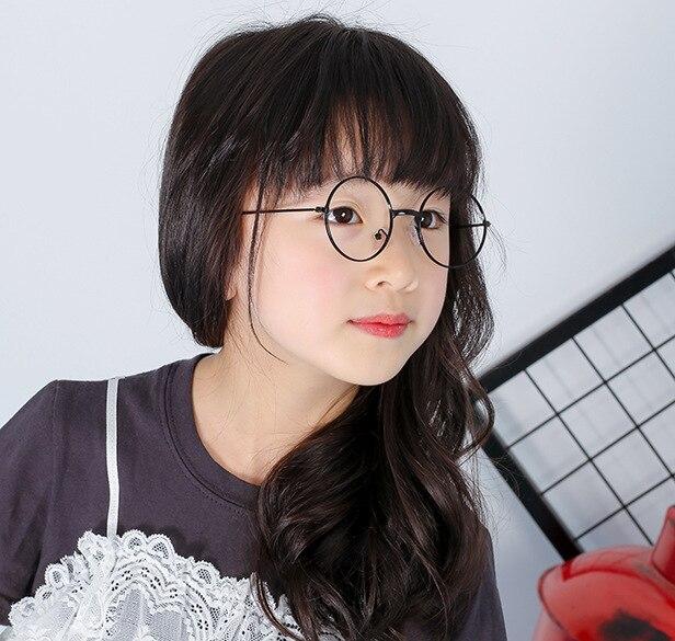 Infant Optical Glasses Baby Metal Glasses Frames Boys&girls Model Show Round Glasses Frame Without Lens  N828