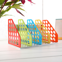 Mirui candy color Document Trays Desk Organizer Office Shelves Filing Trays A4 Holder Racks File Plastic