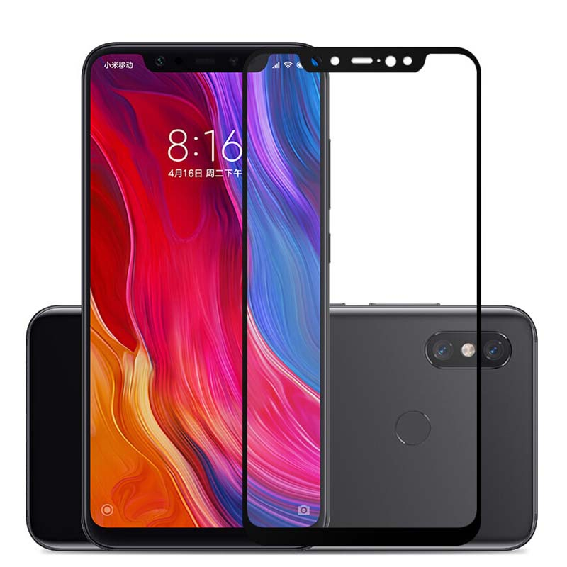 3D Full Glue Tempered Glass For Xiaomi Redmi Note 6 Pro Full Cover 9H Protective film Screen Protector For Redmi Note 6 Pro(China)