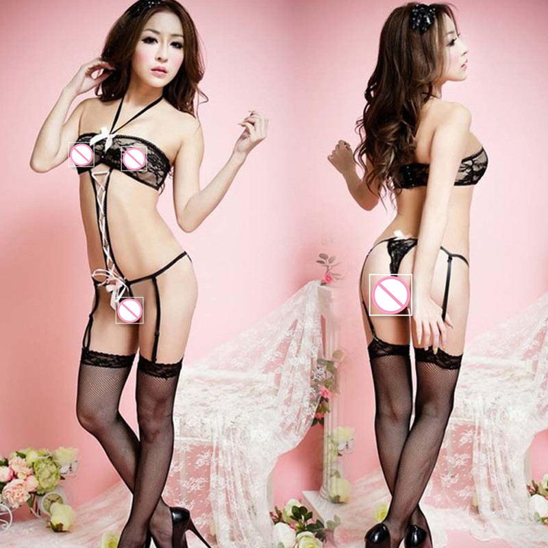 4 colors lenceria sexy underwear hot erotic lingerie Babydoll Sleep Wear Nightdress Sexy dress